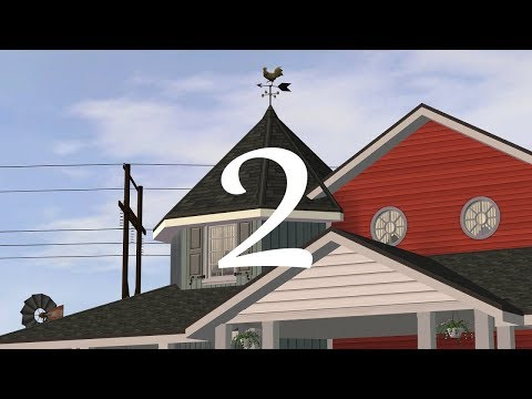 The Sims 2 - Riverblossom Hills - 125 Huckleberry Lane - Part 2