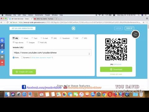 How to Create QR Code URL On PC
