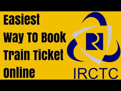 How to book online railway ticket through IRCTC website