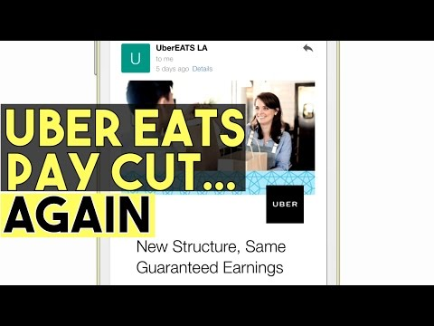 Uber Eats Pay Cut In Los Angeles | BEHIND THE NUMBERS