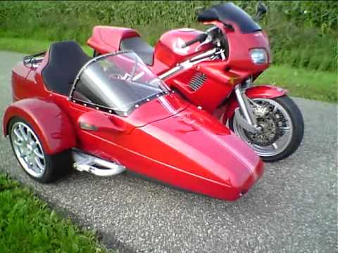First home build Honda VFR RC36 Sidecar Rig