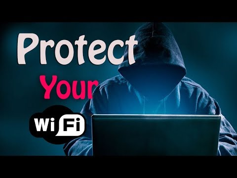How to protect wifi from hackers?