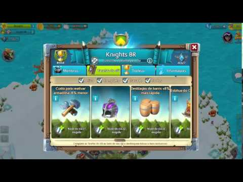 Cloud Raiders - Clans Tasks / Tarefa do Clan