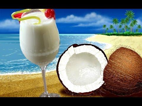 Virgin Pina Colada - Mocktail Recipe/ Non Alcoholic Beverage