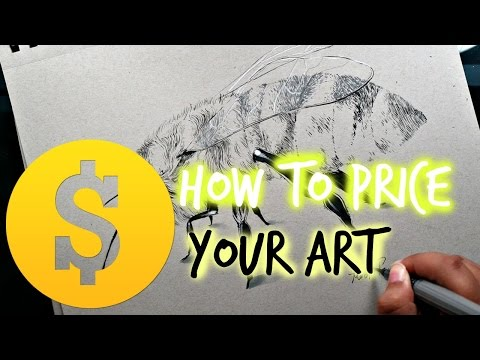 ART TALK: Pricing Your Art and the Importance of NOT Underselling Yourself