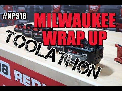 Milwaukee Toolathon - #NPS18 Wrap Up