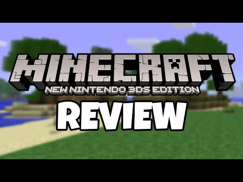 Minecraft New Nintendo 3DS Edition Review