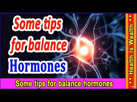 Some tips for balance hormones