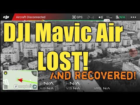 Mavic Air Range Test - How far will it go? (As an added bonus I also lost it)