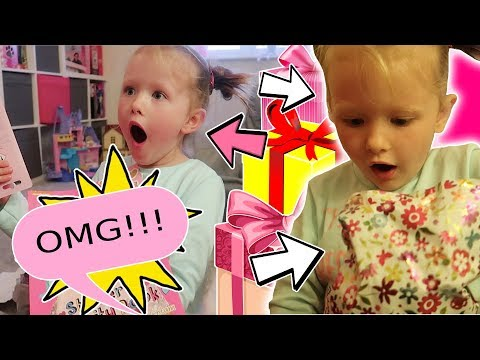 6 YEAR OLDS BIRTHDAY PARTY PRESENT OPENING! - SO CUTE!