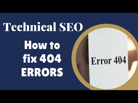 How to Fix 404 Error Pages: SEO Training Part 1 Step 2c