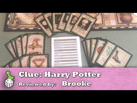 Board Game Review: Clue: Harry Potter Edition
