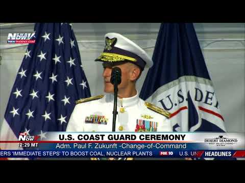 RESPECT: Coast Guard Admiral Thanks President Trump For Strong Leadership