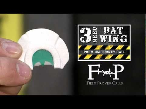 Field Proven Calls Bat Wing Turkey Call