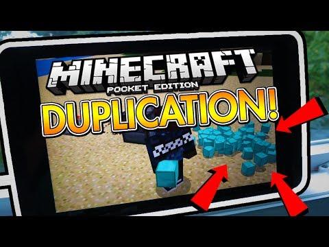 ⚡ EASY DUPLICATION GLITCH 100% WORKING v1.2 | Minecraft Pocket Edition