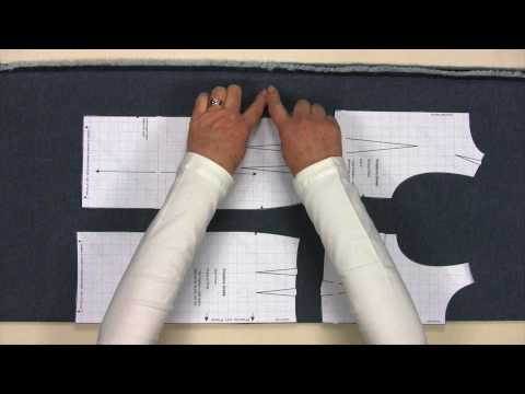 Sewing - Make Your Own Clothes - Learn to Sew - Part 2 - Cutting Out