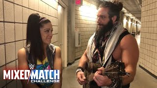 Bayley & Elias are finally singing the same tune for the WWE Mixed Match Challenge