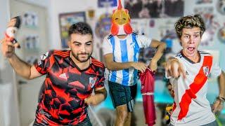 River ELIMINADO vs Atletico Tucuman   Reacciones de Amigos   Copa de la Superliga 2019