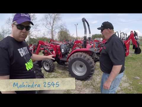 Mahindra & Massey Ferguson Test Drive: Compact Tractor Search Continues