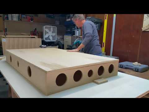 Plywood Sawhorse/Assembly Table/Workbench/Crosscut Table Project Part 3