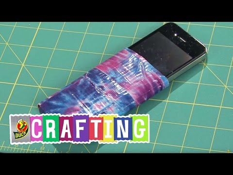 How to Craft a Duct Tape Cell Phone Cover