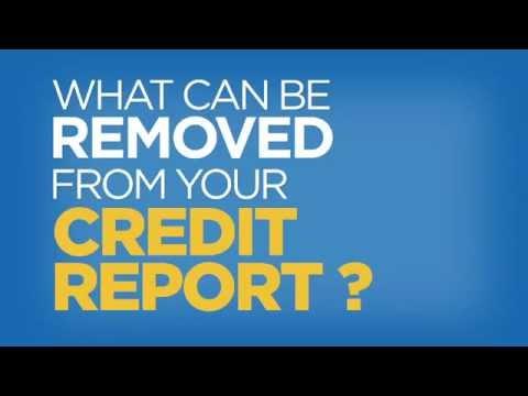 Can I Remove Stuff from a Credit Report? - Credit Quiz