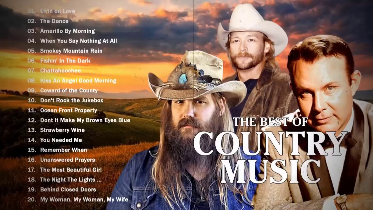 Jim Revees, John Denver, Garth Brooks, Vince Gill - Greatest Old Country Music Hits Collection