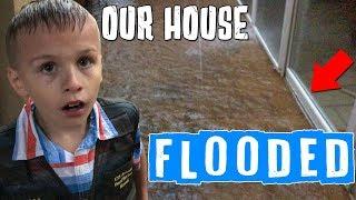 Our House Flooded in an INSANE Flash Flood!!