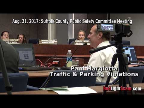 Paul Margiotta Explains Quotas for Suffolk County Red Light Cameras