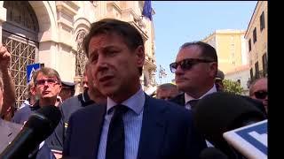 Foggia, punto stampa del Presidente Conte