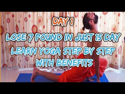 day 1 | how to lose weight fast |yoga video | warm up sun salutation | Indian yoga with Krishna |