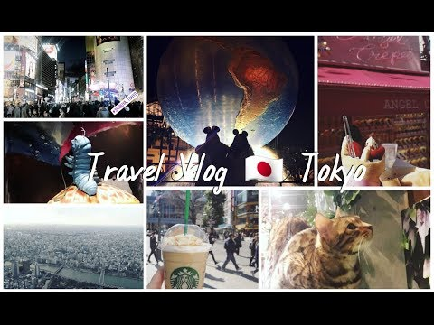 Tokyo 🇯🇵 Travel Vlog: Disney Sea | Shibuya |  Harajuku | Ikebukuro | Akihabara | Tokyo Skytree