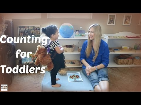 Simple Montessori-Inspired Counting for Toddlers
