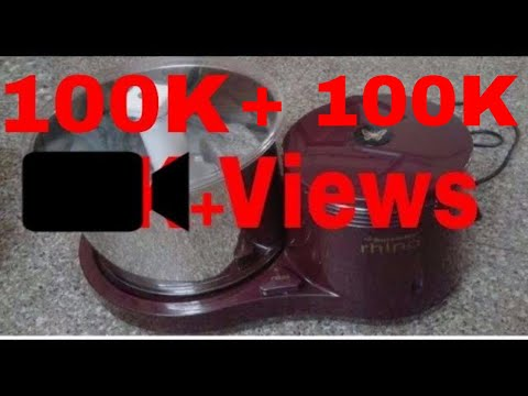 Butterfly Rhino Wet Grinder Review & Demo| 1 Lakh Views
