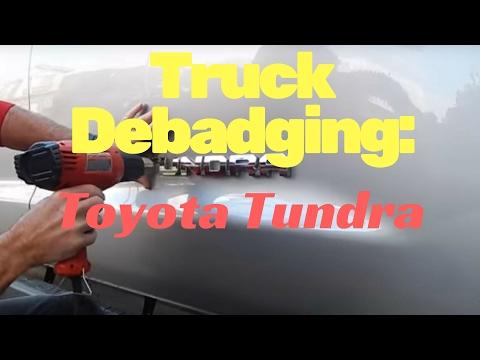 Debadging: Toyota Tundra by AutoFetishDetail.com