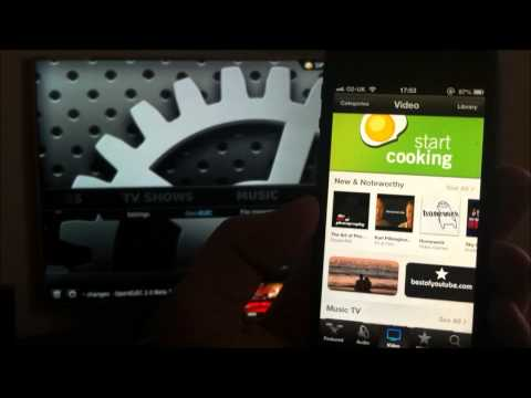 Apple Airplay to XBMC Streaming using IOS Devices