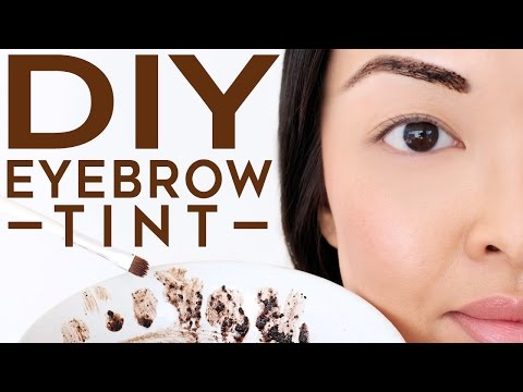 HOW TO: Tint Your Eyebrows At Home Naturally | DIY Recipe