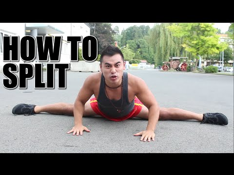 HOW TO DO THE SPLITS - SPLIT TUTORIAL