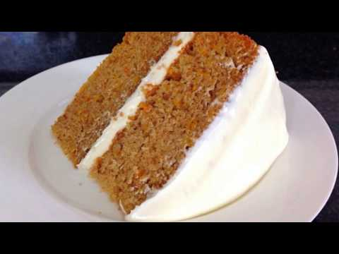 How to make CARROT CAKE with frosting - Without Oven - Easy Carrot Cake by (HUMA IN THE KITCHEN)