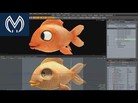 USC Behind The Scenes - Animated character