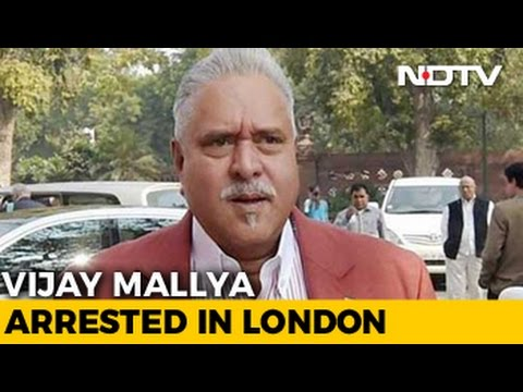 Vijay Mallya, Who Fled India In 2016, Arrested In London