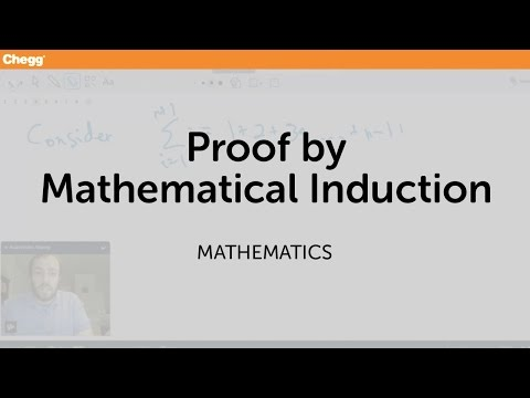 Proof by Mathematical Induction | Math | Chegg Tutors