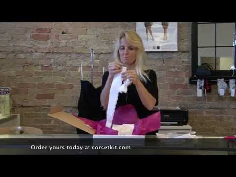 Tina's Corset Kit - Zipper Dress to Tie Up Dress
