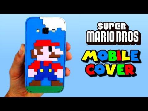 SUPER MARIO BROS MOBILE COVER - DIY