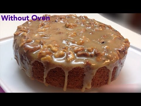 How to Make Caramel Cake Without Oven - New Year  Special Cake