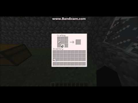 Minecraft - How To Craft - Flint And Steel