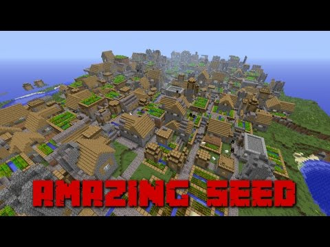 ✔️ 11 VILLAGES! 2 TEMPLES! AND A STONE TREEE!!! AMAZING MINECRAFT SEED! - XBOX 360/ONE + PS3/4