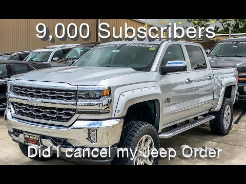 9,000 Subscribers!!!! Huge Surprise, Did I cancel my Jeep order for this Truck ?