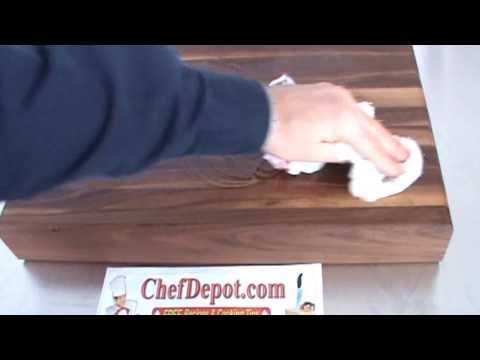 walnut countertop