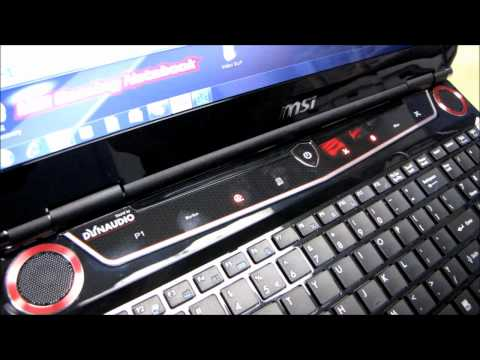 MSI GX660R Core i7 Notebook One Touch Overclocking & Fan Control Linus Tech Tips